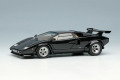 ** 予約商品 ** EIDOLON EM432I Lamborghini Countach LP400S 1989 with Rear Wing Black Limited 30pcs