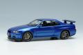 ** 予約商品 ** EIDOLON EM462A Nissan Skyline GT-R (BNR34) V-Spec 1999 Bayside Blue