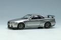** 予約商品 ** EIDOLON EM462B Nissan Skyline GT-R (BNR34) V-Spec 1999 Sonic Silver