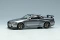 ** 予約商品 ** EIDOLON EM462G Nissan Skyline GT-R (BNR34) V-Spec 1999 Athlete Silver