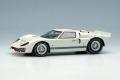 ** 予約商品 ** EIDOLON EM478C Ford GT40 Mk.II Street ver. 1966 Ivory White Limited 100pcs