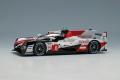 EIDOLON EM507A Toyota TS050 HYBRID Le Mans 24h 2019 No.8 Winner Limited 200pcs