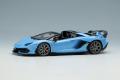 ** 予約商品 ** EIDOLON EM516C Lamborghini Aventador SVJ Roadster (Leirion wheel) Blu Cepheus Limited 80pcs