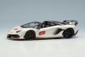 ** 予約商品 ** EIDOLON EM517C Lamborghini Aventador SVJ 63 Roadster 2019 Pearl White Limited 63pcs