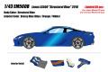 ** 予約商品 ** EIDOLON EM560B Lexus LC500 Structural Blue 2018 Structural Blue interior Limited 60pcs
