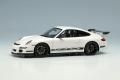 ** 予約商品 ** EIDOLON EM600C Porsche 911(997) GT3 RS 2007 Whtie / Black Livery
