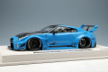 ** 予約商品 ** EIDOLON EML022B 1/18 LB-Silhouette WORKS GT 35GT-RR 2020 Miami Blue Limited 50pcs