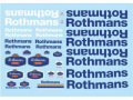F'artefice Decal FE-0007 1/20 Williams FW16 Rothmans for HIRO
