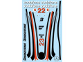 F'artefice Decal FE-0057 1/8 McLaren MP4-23 Re-paint Decal Type1 for De 【メール便可】