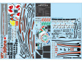 F'artefice Decal FE-0096 1/8 McLaren MP4-23 Re-paint Decal Full set for De