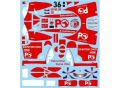 F'artefice Decal FL-0035 1/18 RA106 A.Davidson Turkey GP Decal 【メール便可】