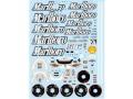 F'artefice デカール FM-0038 1/18 F2007 デカール type1(Marlboro)【メール便可】