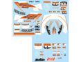 F'artefice デカール FM-0072 1/8,1/18 F2007用追加デカール【メール便可】