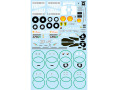F'artefice Decal FM-0090 1/20 Ferrari F60 Re-paint Decal for Tamiya 【メール便可】
