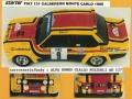STARTER FIA001 フィアット 131 Calberson Monte Carlo 1980