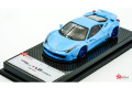 ** 予約商品 ** Fuelme Models FM4305LM-G 1/43 Liberty Walk LB Works 458 Baby Blue /Blue Wheels (Duck Tail) Limited 40pcs