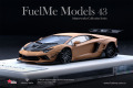 Fuelme Models FM4307-50LE-JN23 1/43 Liberty Walk LB Works Aventador 50th Limited edition Matt brown