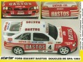 STARTER FOR001 フォード Escort Bastos Boucles de SPA 1993