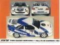 STARTER FOR007 フォード Escort MERCURIO San Remo 1993 winner