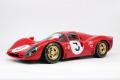 TOPMARQUES /GP replicas GP12-09A 1/12 Ferrari 330P4 1000km Monza Winner 1967 No.3