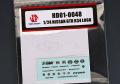 Hobby Design HD01_0048 1/24 ニッサン GTR R34 メタルロゴ 【メール便可】