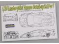 Hobby Design HD02_0278 1/24 ランボルギーニ ヴェネーノ ディテールアップセット for Fujimi