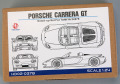 Hobby Design HD02_0378 1/24 Porsche Carrera GT Detail up set for Tamiya
