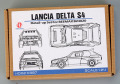 Hobby Design HD02_0387 1/24 Lancia Delta S4 Detail up set for Beemax