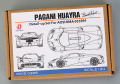 Hobby Design HD02_0388 1/24 Pagani Huayra Pacchetto Tempesta Detail up set for Aoshima