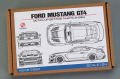 Hobby Design HD02_0390 1/24 Ford Mustang  GT4 Detail up set for Tamiya