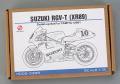 Hobby Design HD02_0399 1/12 Suzuki RGV-T(XR89) Detail up set for Tamiya
