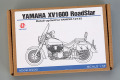 Hobby Design HD02_0400 1/12 Yamaha XV1600 Roadstat Detail up set for Tamiya