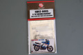 Hobby Design HD02_0405 1/12 Suzuki RG400T Early ve. 1985 Detail up set For Hasegawa