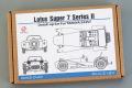 Hobby Design HD02_0410 1/24 Lotus Super 7 Series II Detail up set for Tamiya
