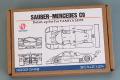 Hobby Design HD02_0418 1/24 Sauber-Mercedes C9 Detail up Set For Tamiya