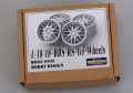 Hobby Design HD03_0302 1/18 18' BBS RS-GT Wheels