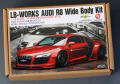 Hobby Design HD03_0510 1/18 LB-Works アウディ R8 Wide Body kit