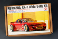 Hobby Design HD03_0512 1/24 RB マツダ RX-7 ワイドボディキット For Tamiya