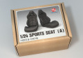 Hobby Design HD03_0516 1/24 Sports seats (A)