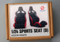 Hobby Design HD03_0529 1/24 Sports seats (D)