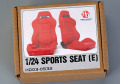 Hobby Design HD03_0532 1/24 Sports seats (E)