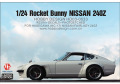 Hobby Design HD03_0533 1/24 RB Nissan 240Z Wide Body Kit For Hasegawa