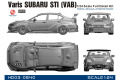 Hobby Design HD03_0540 1/24 Varis Subaru STI (VAB) Full resin kits
