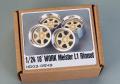 Hobby Design HD03_0549 1/24 18' Work Meister L1 Rimset Wheels