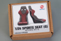 Hobby Design HD03_0559 1/24 Sports Seats (G) Recaro RS-G