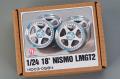 Hobby Design HD03_0584 1/24 18' Nismo LMGT2 Wheels