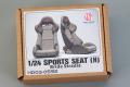 Hobby Design HD03_0592 1/24 Sports Seats (H) Edirb Stradia
