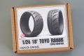 Hobby Design HD03_0595 1/24 18' Toyo R888R (245/40 R18) Tires