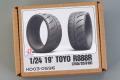 Hobby Design HD03_0596 1/24 19' Toyo R888R (245/35 R19) Tires