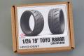 Hobby Design HD03_0597 1/24 19' Toyo R888R (265/35 R19) Tires
